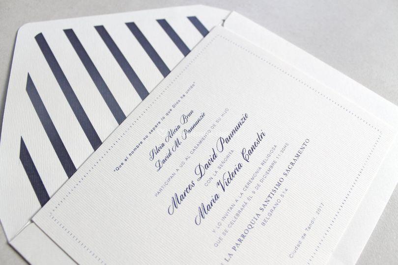 Invitación casamiento