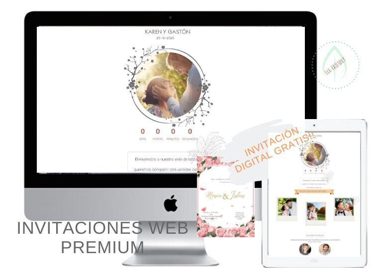 PROMO INVITACIÓN WEB PREMIUM