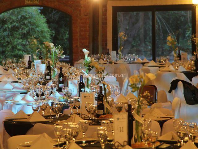 Presentacion de las mesas