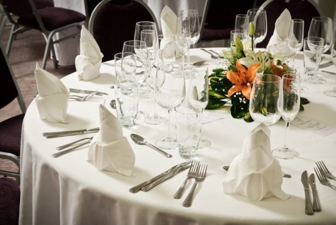 Banquete para casamientos