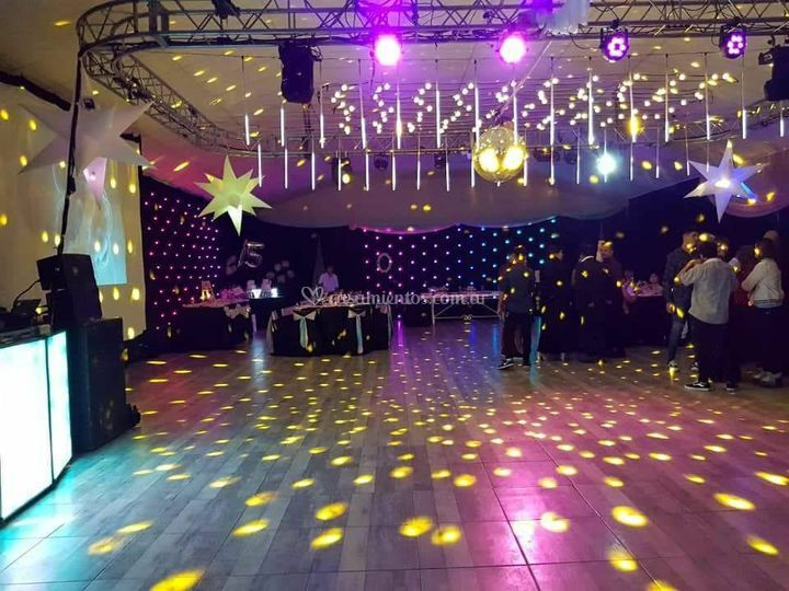 Iluminación de bodas