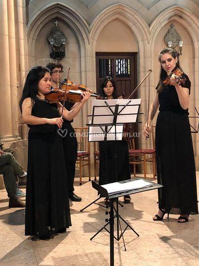 Violinistas - ceremonia
