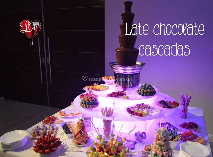 Late Cascada de Chocolate