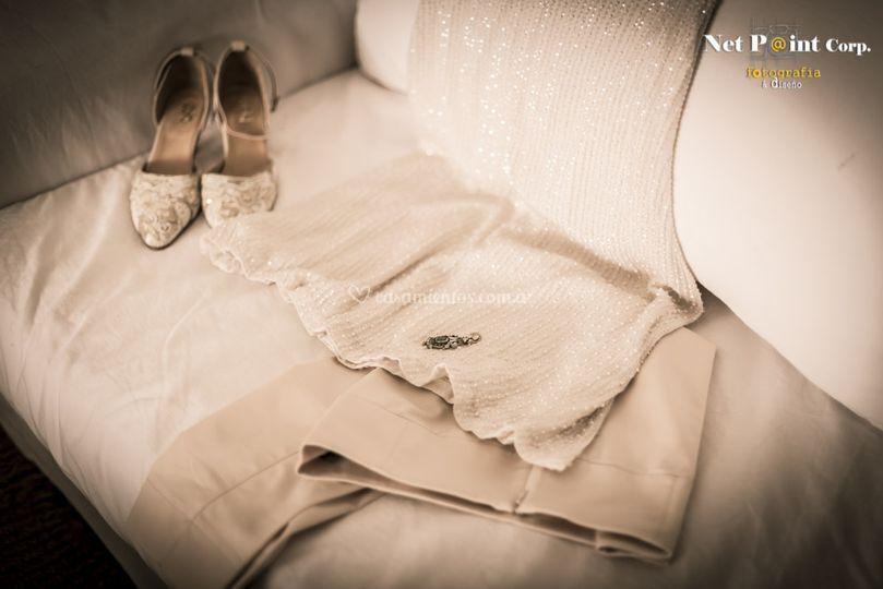 La ropa de la novia