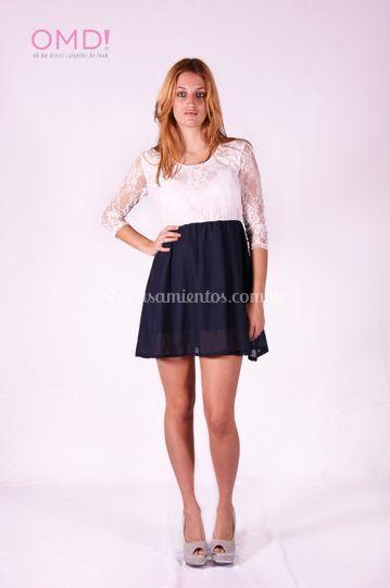 Vestido civil Lauren