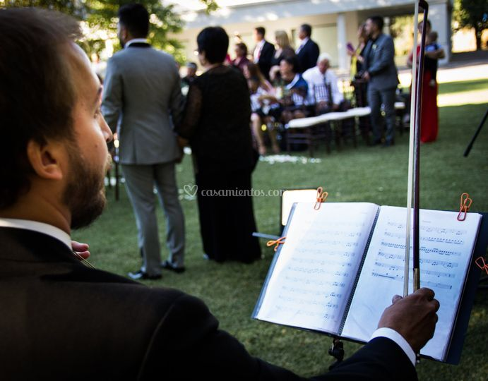 Durante ceremonia