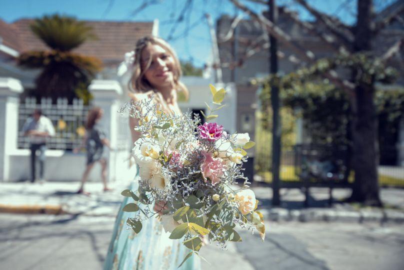 Llegó la novia