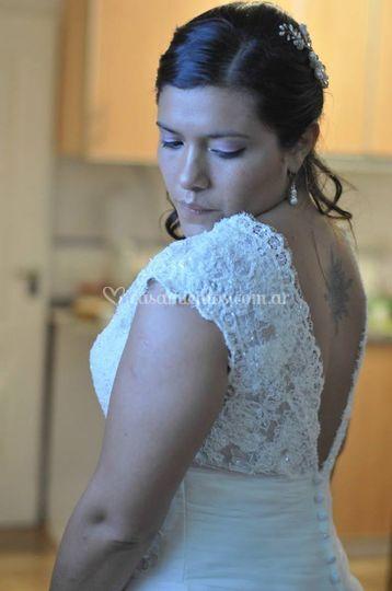 Novia fotos pre-boda
