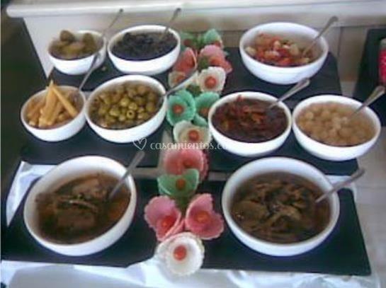 Varios platos