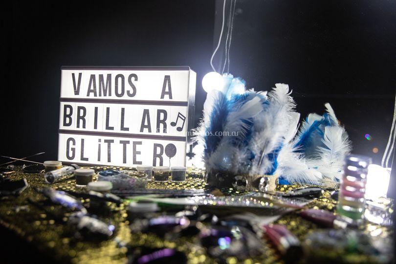 Estación glitter