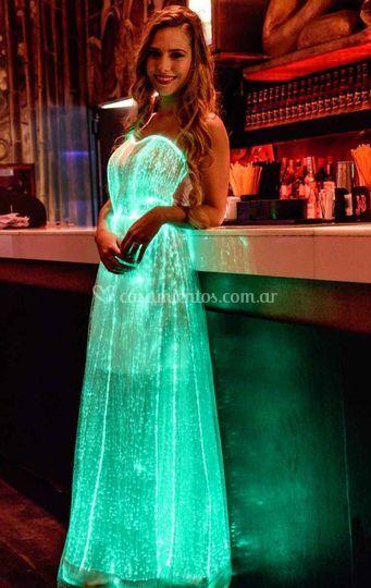 Vestidos luminosos