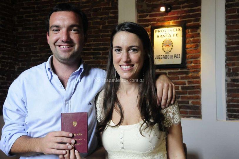 Casamiento, Clara y Nano