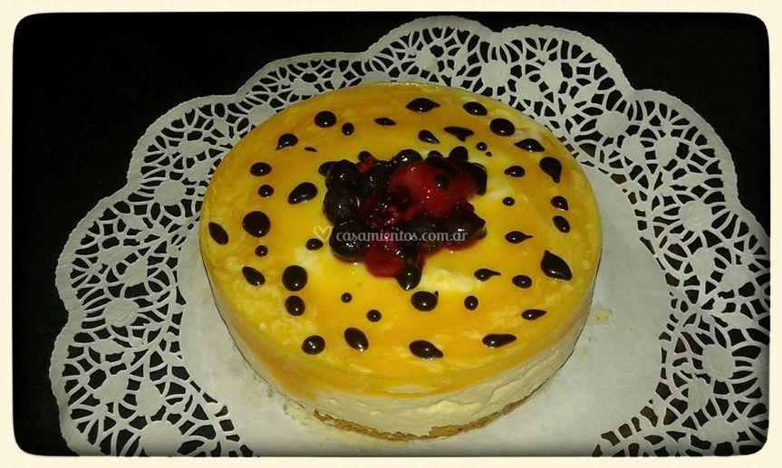Cehsse cake Maracuya