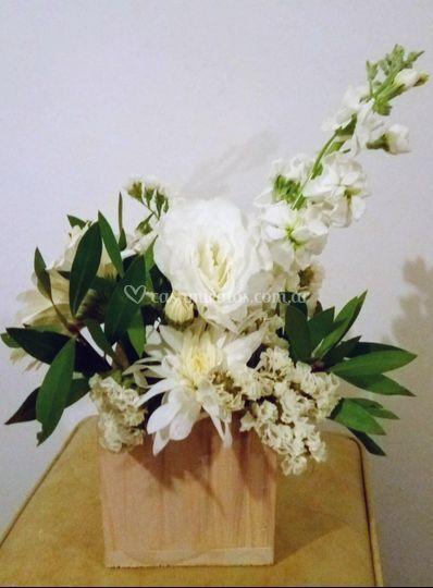 Mix de flores blancas