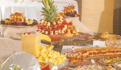 Mesa de picada y quesos