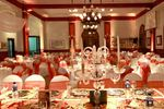 Sal�n decorado e iluminado de Club Regatas Rest�
