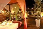 Gazebo en la terraza de Club Regatas Rest�