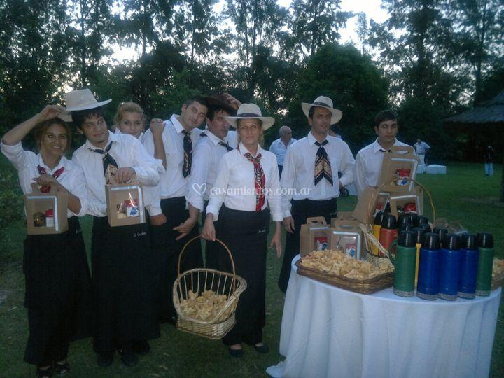 Mesa dulce criolla
