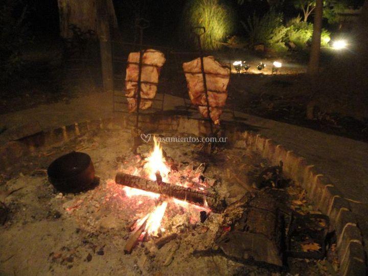 Catering de carnes al asador