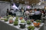 Mesa de ensaladas de El Card�n Eventos
