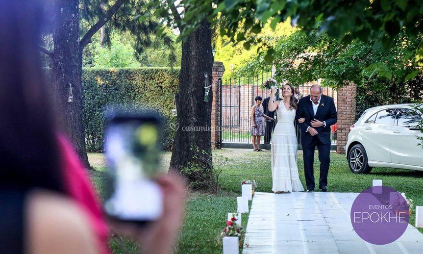 Ceremonia - ingreso novia