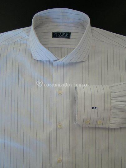 Camisa civil con monograma