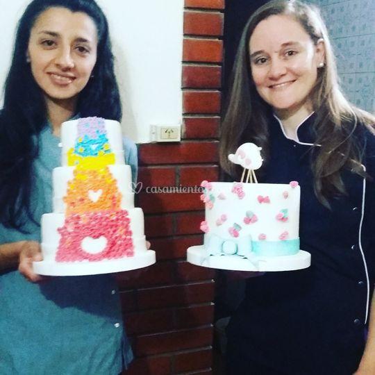 Sofia y Montserrat socias