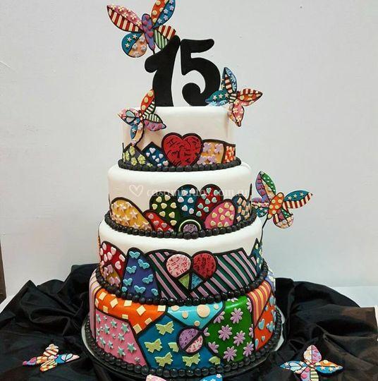 Cannelé cakes