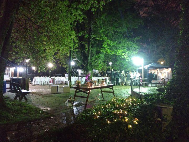 Ambientación nocturna