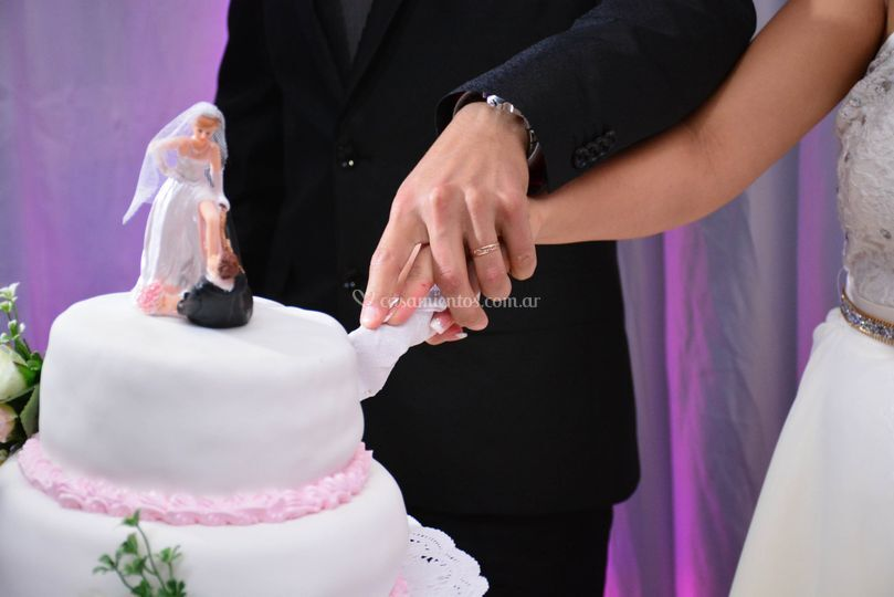 Corte de torta
