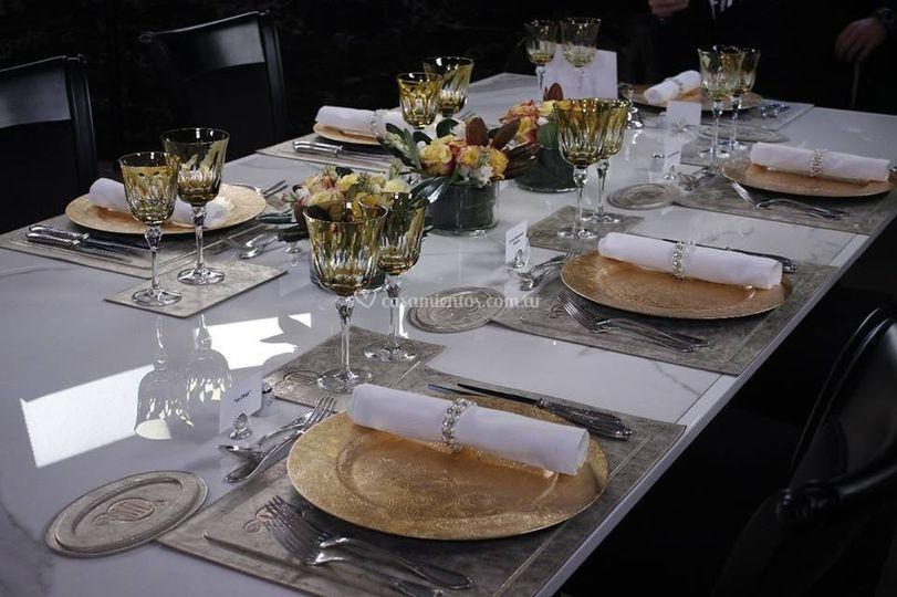 Prestación de las mesas