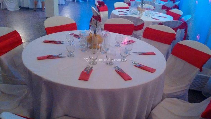 Mesas elegantes