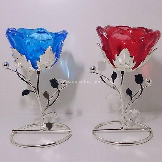 Centros de mesa flor