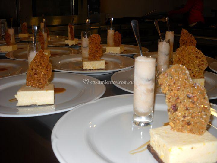 Gran variedad de menú
