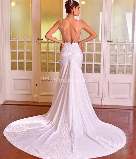 Vestido de novia sexy