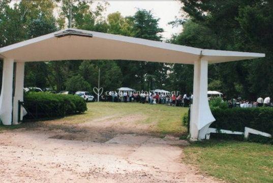 Portada de acceso al parque