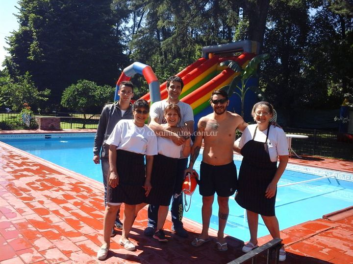 Pool party empresarial