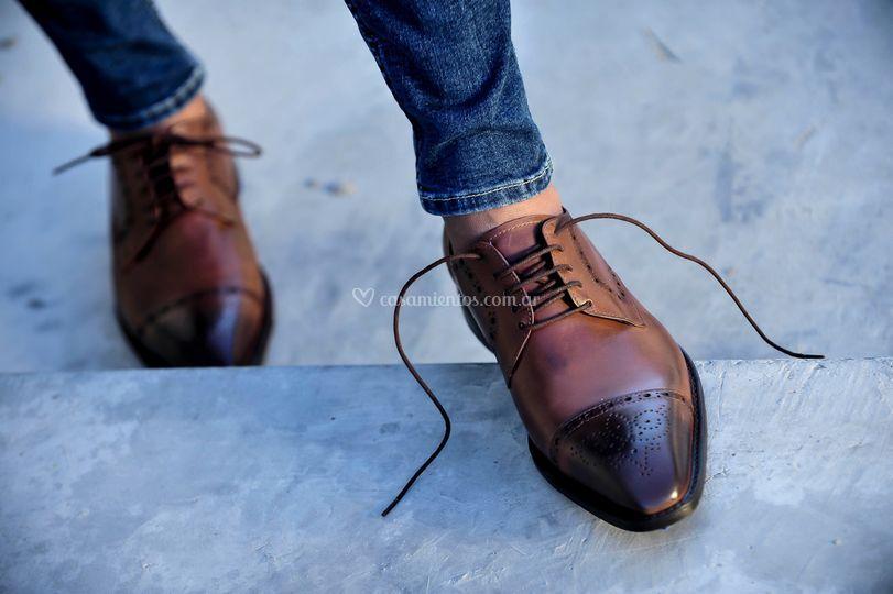 Zapatos rey suela