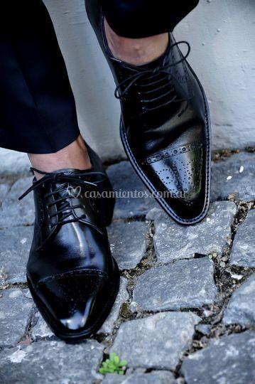 Zapatos rey negros