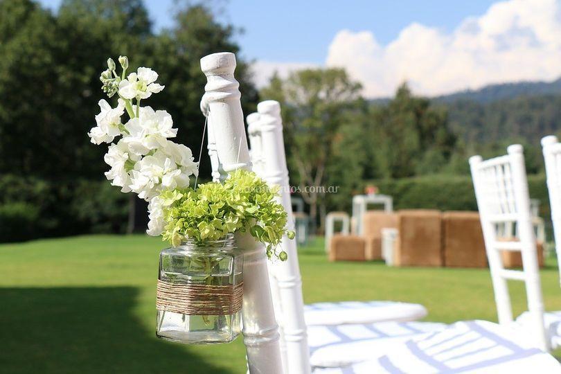 Ambientación de boda