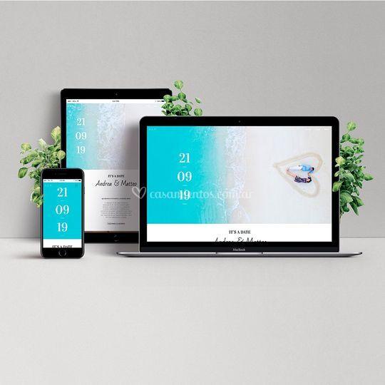 Invitación Digital Sitio Web