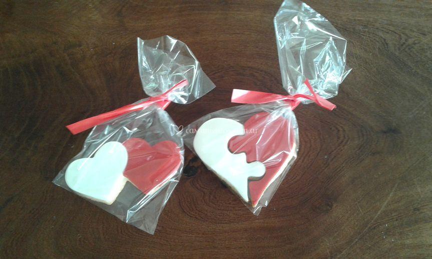 Cookies para novios