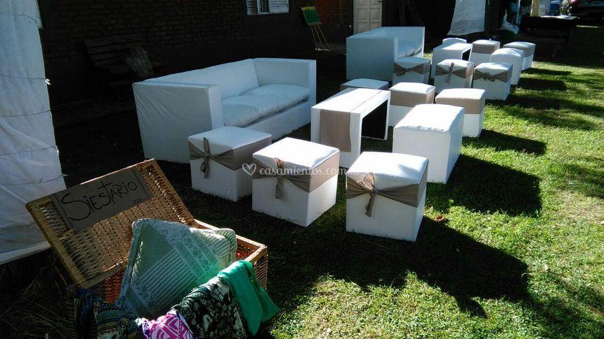 Livings con sillón