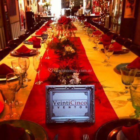 VeintiCinco Restaurant