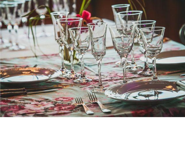 Romántica mesa