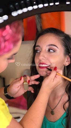 Maquillaje producción