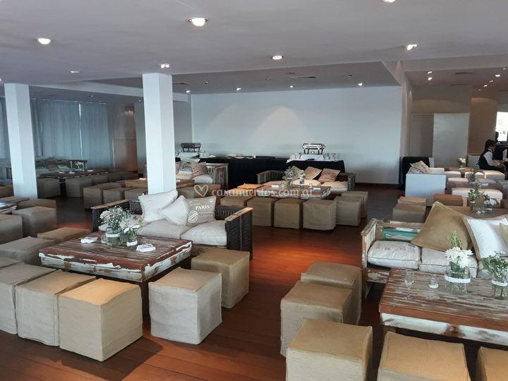 Mobiliario para bodas y evento