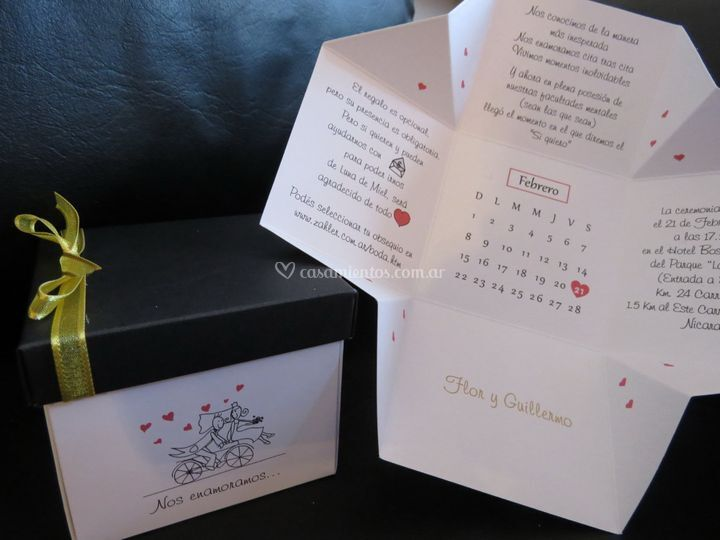 Caja de boda