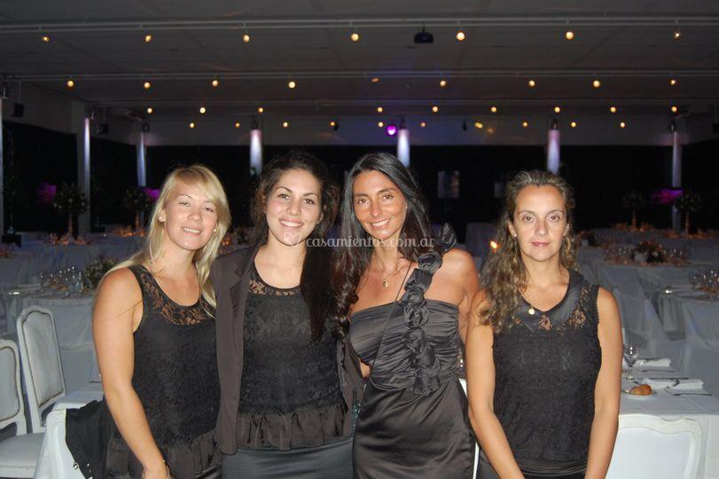 Marisol y staff
