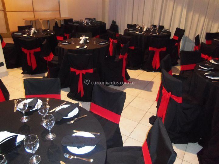 Mesas para casamiento